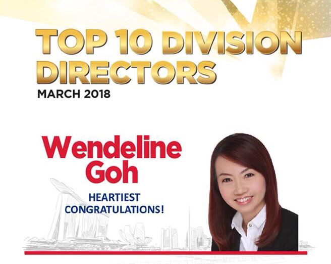 (1) ERA Top 10th Division Director for Month of Mar 18