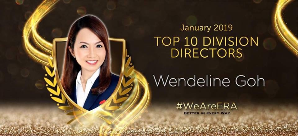 (1) ERA 9th Position Division Director for Month of Jan 2019