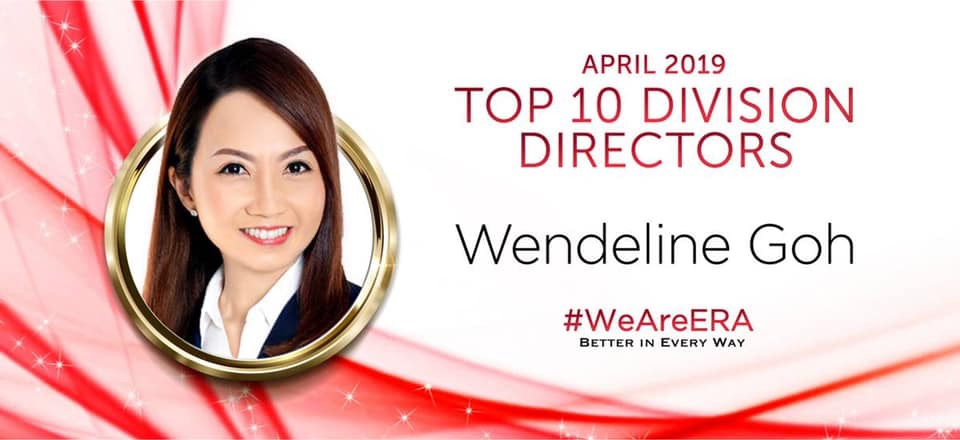 (3) ERA 7th Position Division Director for Month of Apr 19